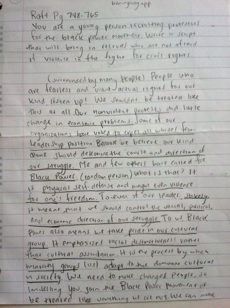 what is a raft writing assignment This strategy is used to help students understand the process of writing better it teaches them the important concepts to consider when writing or reading a text raft is an acronym that stands for role, audience, format and topic pick a portion from your current reading assignment and decide.